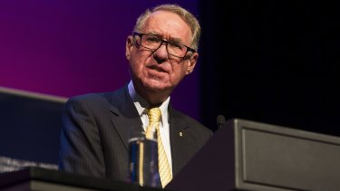 ANZ chairman David Gonski spoke out at what was perceived to be a campaign by Mr Medcraft to broaden legislation.