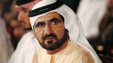 Passion for thoroughbreds: Sheikh Mohammed Bin Rashid Al Maktoum, UAE  Prime Minister and ruler of Dubai