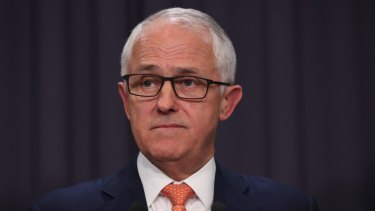 """Malcolm Turnbull responded with platitudes about how this is about """"getting the balance right:."""