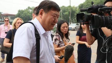 "Asked about the condition of his clients, lawyer Zhai Jian replied ""pretty good""."