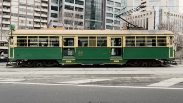 The W-Class tram that is still in use around Melbourne.