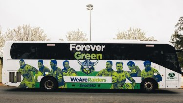 Canberra will travel in style during their finals campaign.