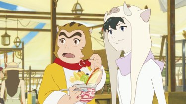 Ren, a boy, learns lessons about life from a cast of beasts in <i>Boy and the Beast</i>.
