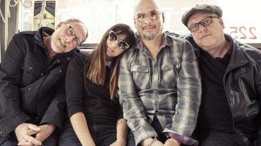 Familiar sounds and a safe return for the Pixies.