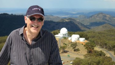 Professor Fred Watson, astronomer-in-charge, Australian Astronomical Observatory, Siding Spring, NSW.