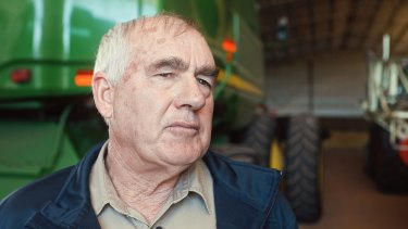 Farmers do it very tough, says WA farmer and CBH director Wally Newman.
