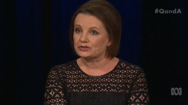 Health and Aged Care Minister Sussan Ley on <i>Q&A</i>.
