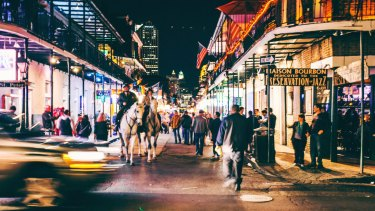 The Curtin students were in New Orleans when they were shot.