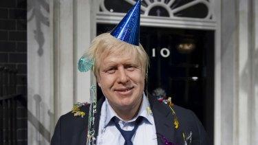 Boris Johnson in 2012.