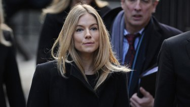 Sienna Miller took on the paparazzi and gave evidence at the Leveson Inquiry in London in 2011.