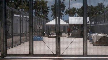 The Manus Island detention centre in Papua New Guinea.