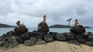 The Mermaids Iconic on Daydream Island before Cyclone Debbie blew through.