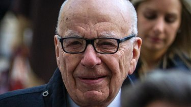 Rupert Murdoch: no fan of Mitt Romney for president.