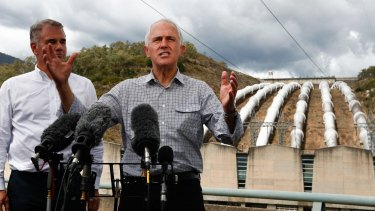 PM Malcolm Turnbull announced in March a plan to boost capacity at Australia's largest hydro-electric power project by 50 per cent.