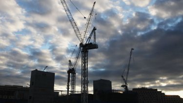 Sydney's CBD could face an oversupply of apartments, after record building levels and with vacancy rates starting to rise.
