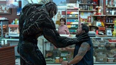 A scene from Venom.
