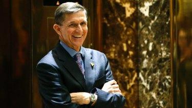 President-elect Donald Trump's choice for national security advisor, Michael T. Flynn.