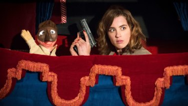 Adele Haenel plays young widow Yvonne in The Trouble With You.