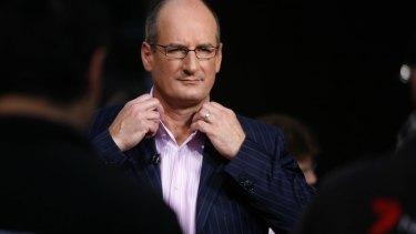 Sunrise presenter David Koch.