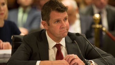 NSW Premier Mike Baird is facing a fall in popularity.