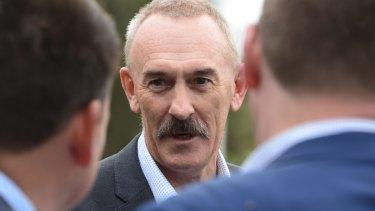 AFL finance boss Ray Gunston.