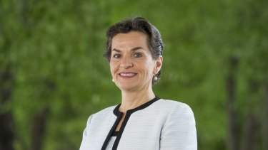 Christiana Figueres is rebadging the fight against global warming.