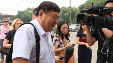 """Asked about the condition of his clients, lawyer Zhai Jian replied """"pretty good""""."""