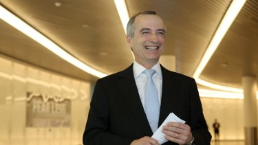 Virgin Australia chief executive John Borghetti has found a way to boost the airline's lucrative business with corporate and government travellers.