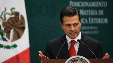 Mexico's President Enrique Pena Nieto has cancelled his meeting with Donald Trump..
