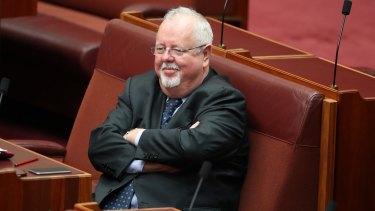 Coalition senator Barry O'Sullivan.