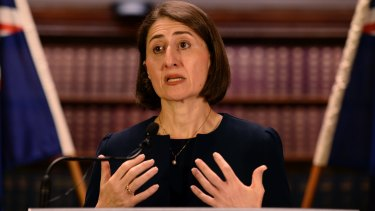 New NSW premier Gladys Berejiklian's state budget has been boosted by $9 billion in transfer duty in 2015-16.