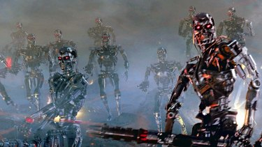 The <i>Terminator</i> movies imagined a future where killer robots posed a threat to humanity: some warn that the threat is real.