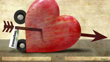 The price of love has been getting rather steep lately. Illustration: Michael Mucci