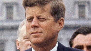 President John F. Kennedy in 1963.