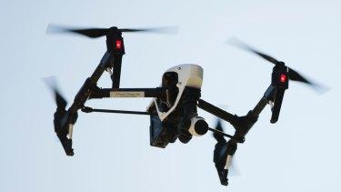 Brisbane City Council has used drones as part of its bridge maintenance program.