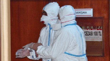 WHO experts took part in autopsies on victims of the chemical attack in a hospital in Adana, Turkey, in April.