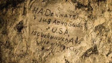 Markings left by  HA Deanate from the American 148th Aero Squadron.