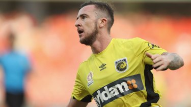 Central Coast Mariners striker Rory O'Donovan scored a double against the Wanderers.