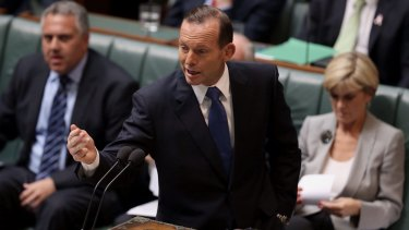 Looking for a way through? Prime Minister Tony Abbott.