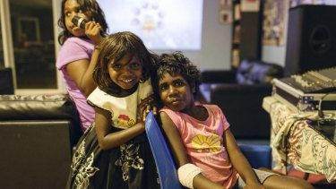 Indigenous children take part in Save the Children's program in Kununurra.