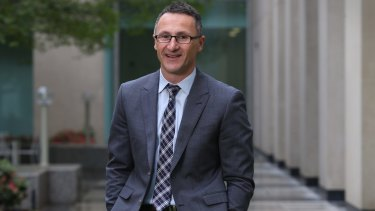 Greens Leader Senator Richard Di Natale at Parliament House in Canberra on Thursday 22 October 2015. Photo: Andrew Meares