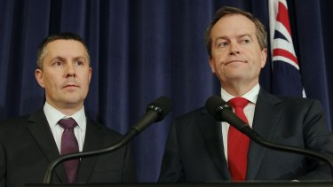 Labor's climate change spokesman, Mark Butler, and leader, Bill Shorten, have denied reports they are planning to propose a carbon tax.