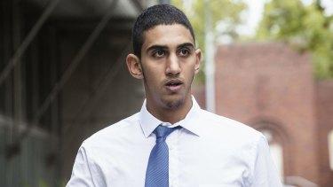 Mustafa Abdel Ghany at Bankstown Local Court on Thursday.