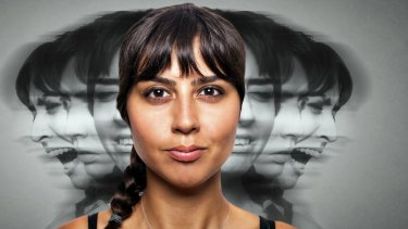 According to a survey, titled Picture This: How Australians picture mental illness, the most popular image depicting mental illness was of a woman surrounded by multiple profiles of herself in various states of emotional distress.