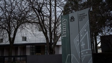 Trinity Grammar School in Kew.