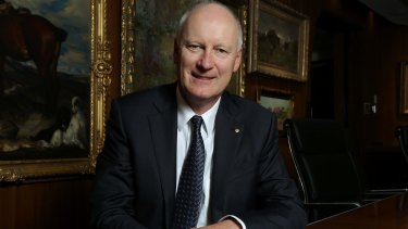 Richard Goyder, managing director of Wesfarmers, is determined to protect Coles' price gap with Woolworths.