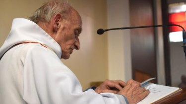 French Priest Jacques Hamel was killed when two attackers slit the throat of the 86-year-old's throat.