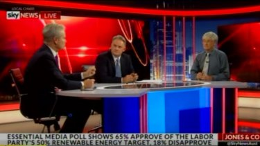 Appearing with Mark Latham and Ross Cameron, Mr Smith spoke about 'ridiculous immigration'.