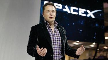 Tech entrepreneur and SpeceX chief executive Elon Musk.