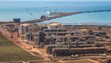 The Gorgon Gas Project in Western Australia.